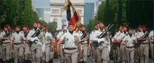 14 juillet 2009 - La 11e Brigade PARACHUTISTES à l'honneur sur les CHAMPS-ELYSEES