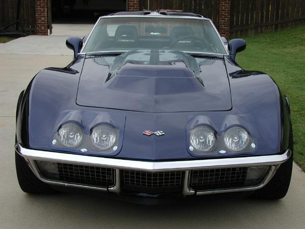 Old Corvette Headlights : C phares avant