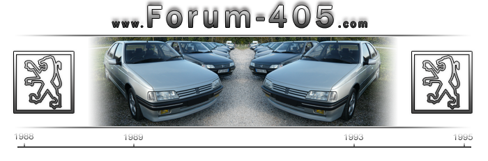 www.forum-405.com le Forum dédié à la 405