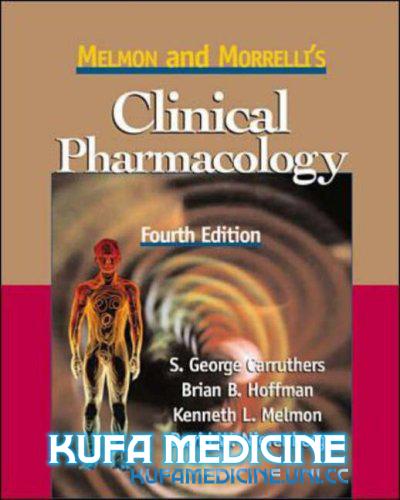 Hf Melmon And Morrelli S Clinical Pharmacology Book Free Ebooks