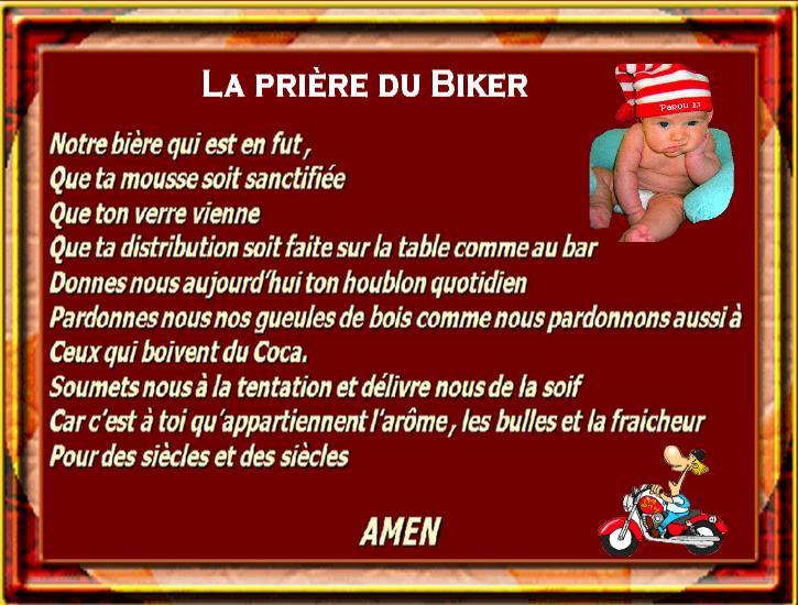 Fabulous La prière du Biker GP97