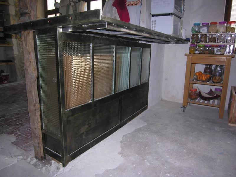 Fabriquer un bar de cuisine coin repas plan de travail - Construire ilot cuisine ...