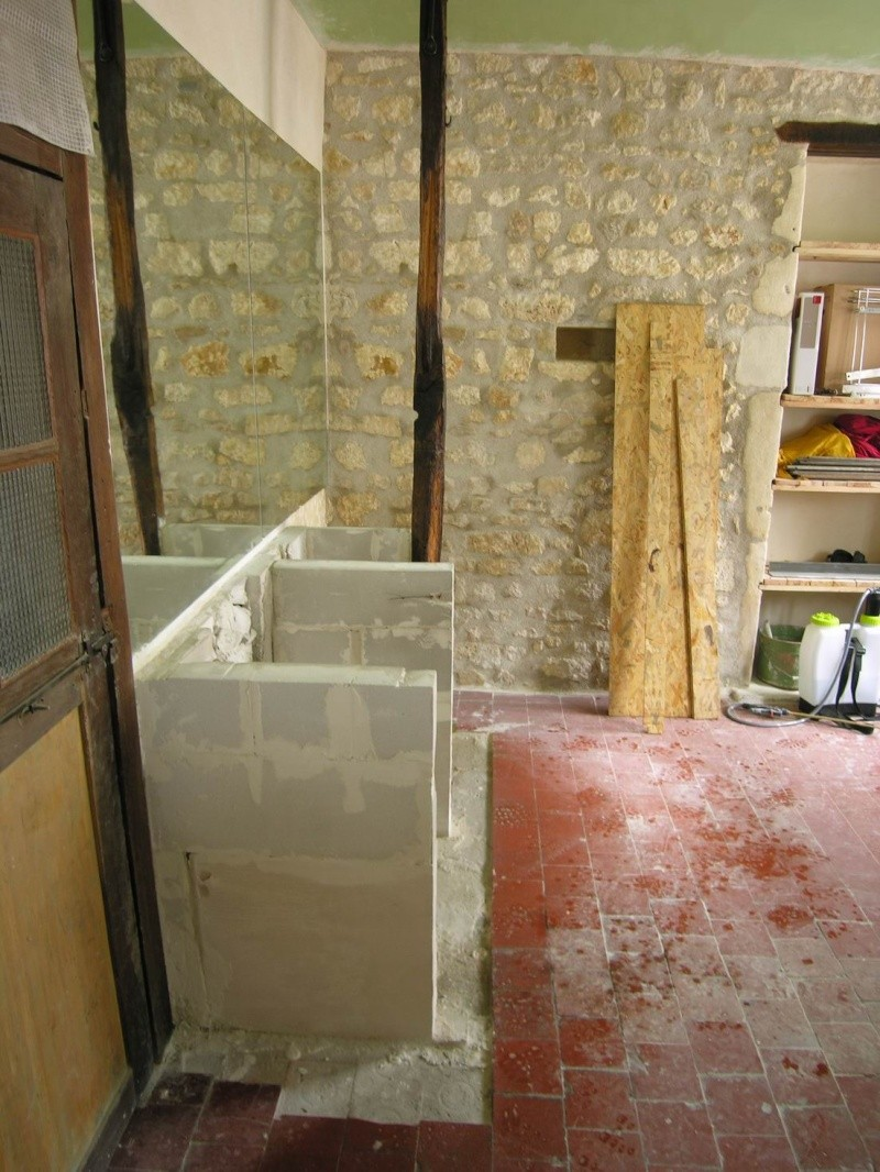 Bar En Siporex Good Idee Faience Salle De Bain With Bar En  # Meuble Tv Siporex