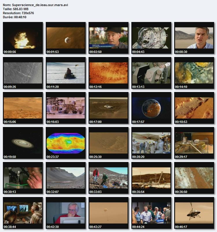 Superscience: De l'eau sur Mars [TVrip - FR][FS]