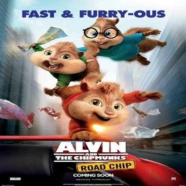 فيلم Alvin and the chipmunks The Road Chip 2015 مترجم بلوراي