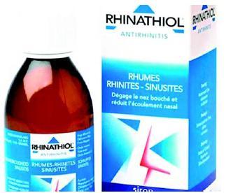 Rhinathiol et Carbocistéine interdits
