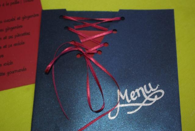 Decoration De Table Menu Rouge : Table sur le thème des p� ch� s capitaux balade gourmande de c� cile