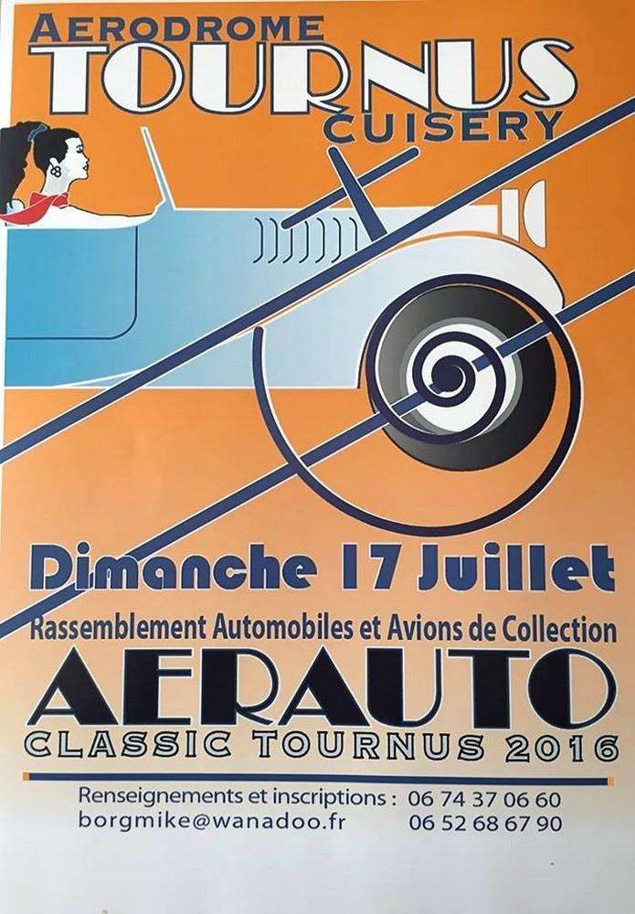 AeroAuto Classic 2016,Rassemblement Auto et avions de Collection ,Aerodrome de Tournus-Cuisery, Bourgogne, French Airshow 2016