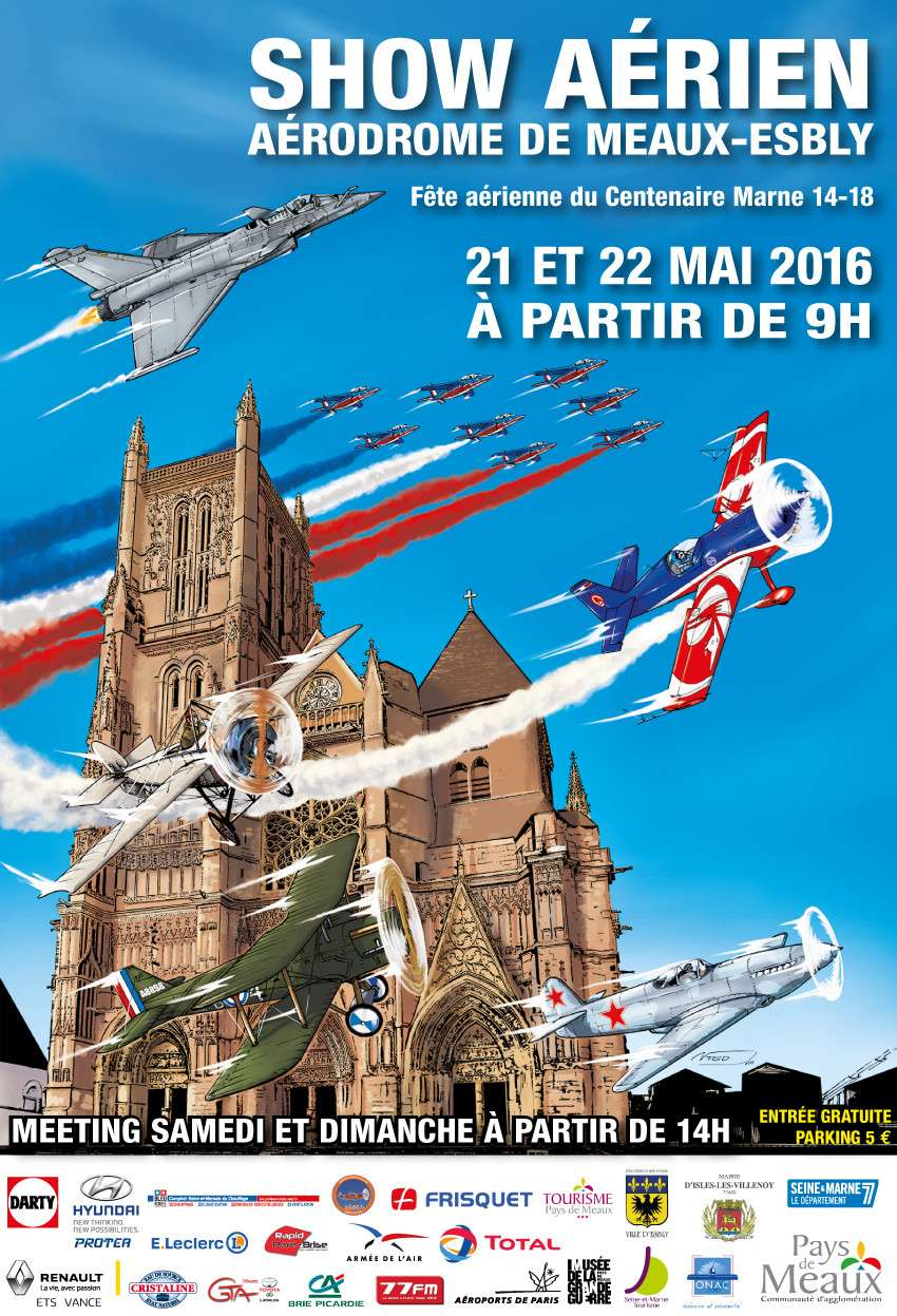 Dates des meeting aeriens 2016 french airshows tv for Meeting aerien salon de provence