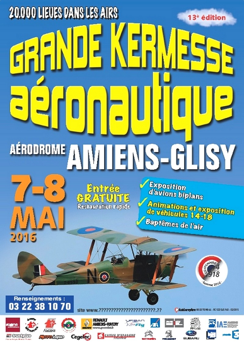 20.000 lieues dans les Airs 2016,Aéroclub de Picardie 2016 , Meeting Aerien 2016, Airshow 2016, French Airshow 2016