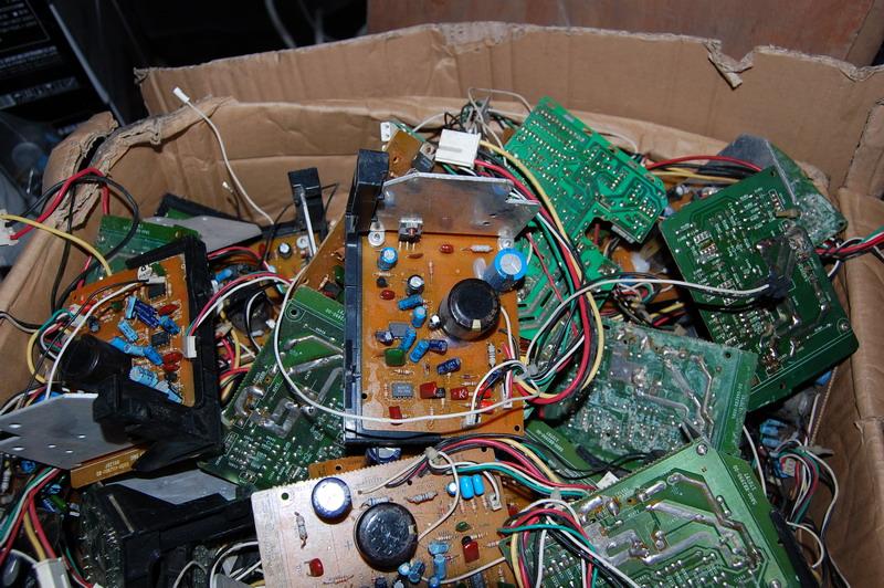 特价低音炮专用功放电路板 lm1875t ba15218 tda8196 高清图片
