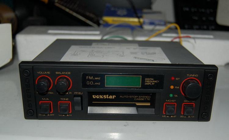 立体声汽车音响无线电自动收音机
