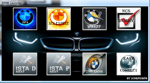 Creating Launcher for Software bmw