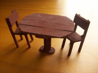 Tuto minia chaise en bois blog d 39 annasonne for Baton de chaise synonyme