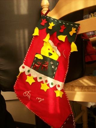 Botte de Noël dans Couture chauss10