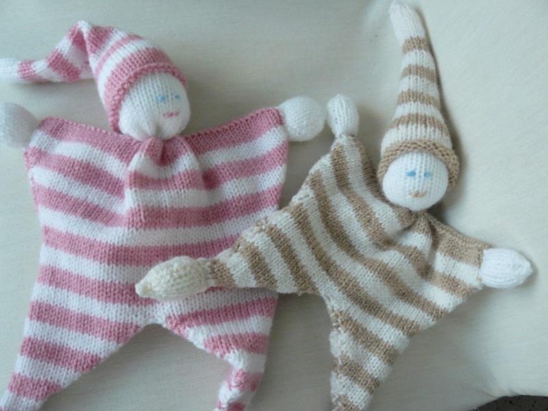 Tuto doudou tricot