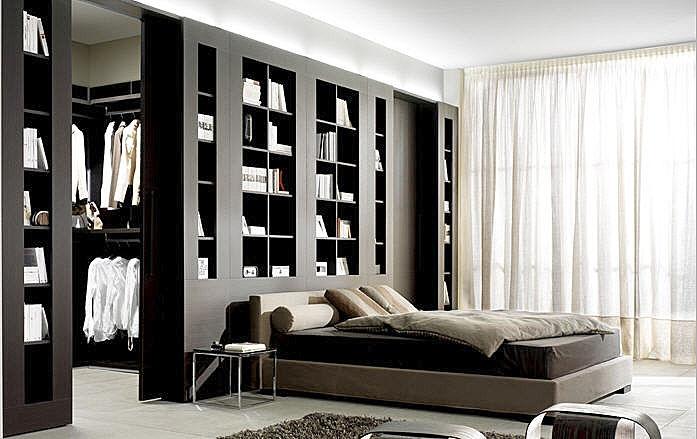 Recherche de dressing en t te de lit for Photos dressing dans une chambre