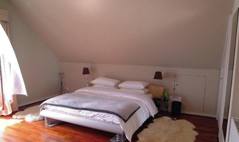 Demande de conseils pour d co d 39 une chambre mansard e - Idee peinture chambre mansardee ...