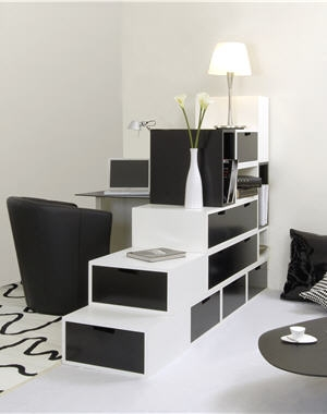 separation entr e sejour. Black Bedroom Furniture Sets. Home Design Ideas