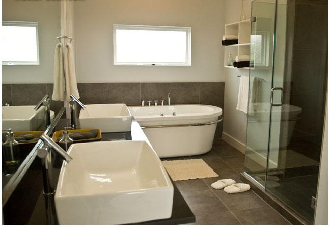 Salle de bain refaire enti rement photo p2 for Carrelage salle de bain hauteur
