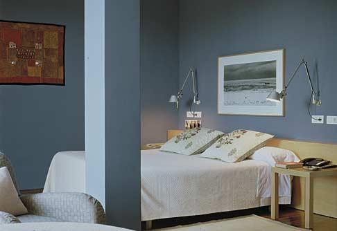 La chambre d 39 amis d 39 ancolies page 2 - Chambre couleur bleu et gris ...