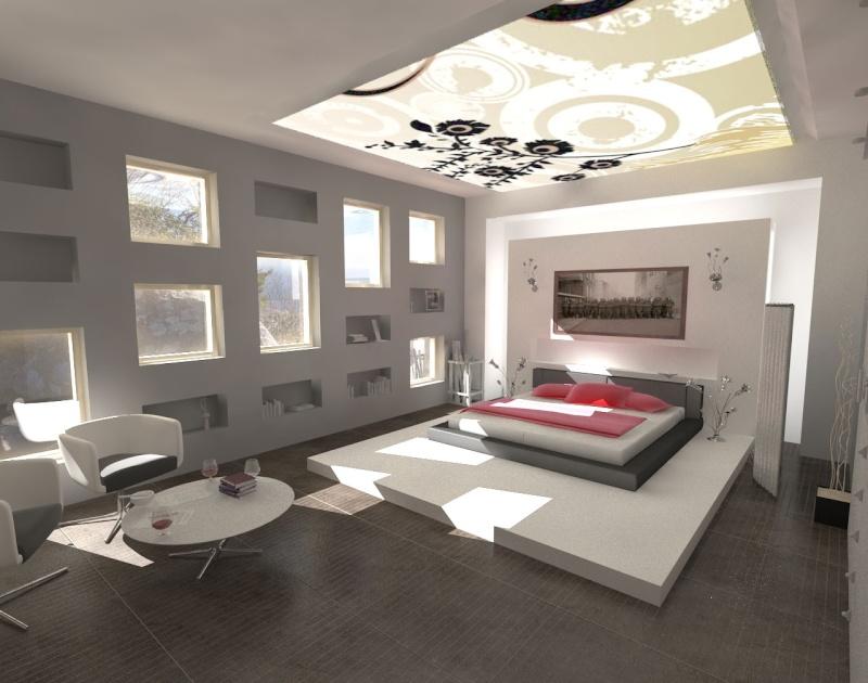 Salle De Bain Ouverte Sur Dressing. Simple Chambre By Alex Urena ...