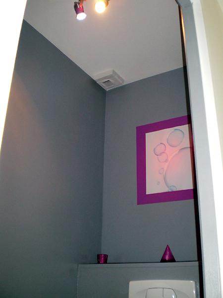 Quelle couleur et quelle d co pour mes toilettes - Idee peinture pour toilette ...