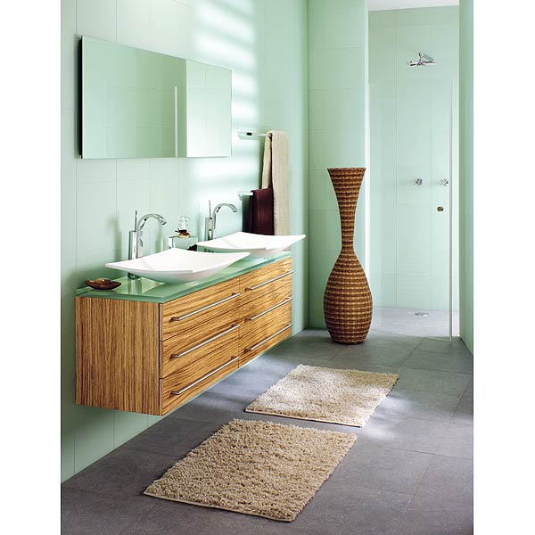 Salle de bains zen for Couleur zen salle de bain