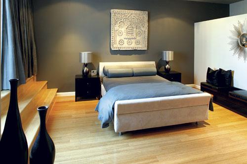 Comment peindre les murs avec cette chambre bleu for Chambre grise et bleu
