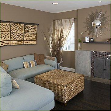 Quelle couleur murs pour salon avec canopy bleu fonc et parquet ch ne clair - Glace murale pour salon ...