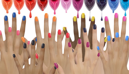 Les vernis a ongles couleurs flashy