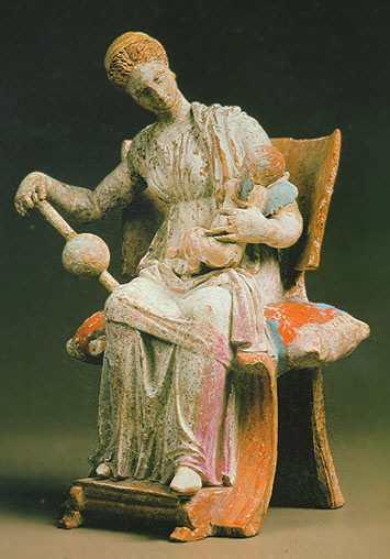 Tanagra Statuettes