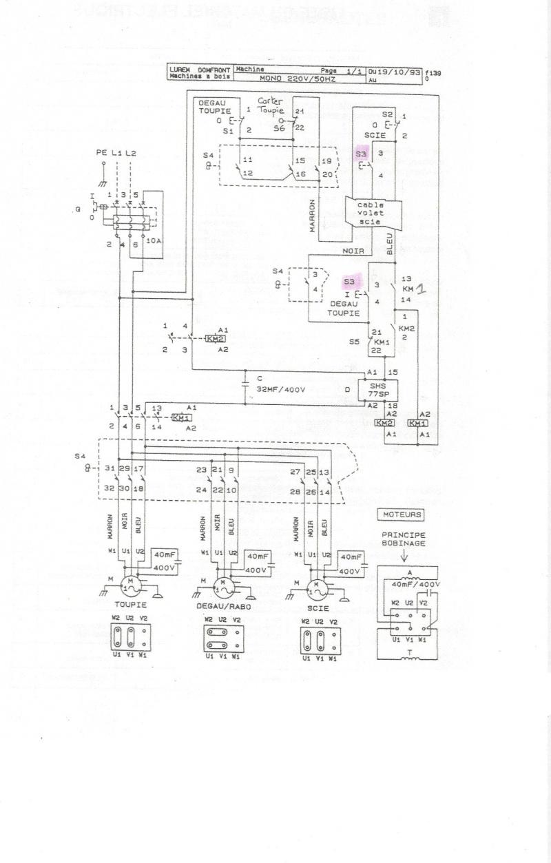 lurem c260e moteur mono condensateur permanent et de d u00e9ma