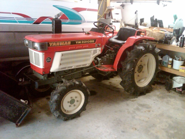 Yanmar Tractor Battery : Tractor yanmar