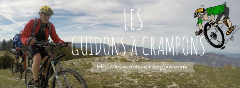 les guidons � crampons