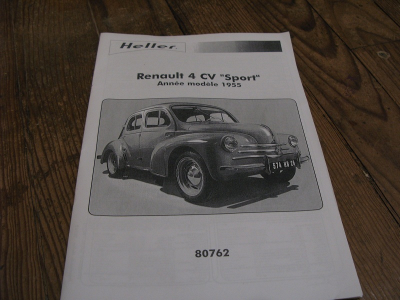 kit review heller renault 4cv  1955  1  24