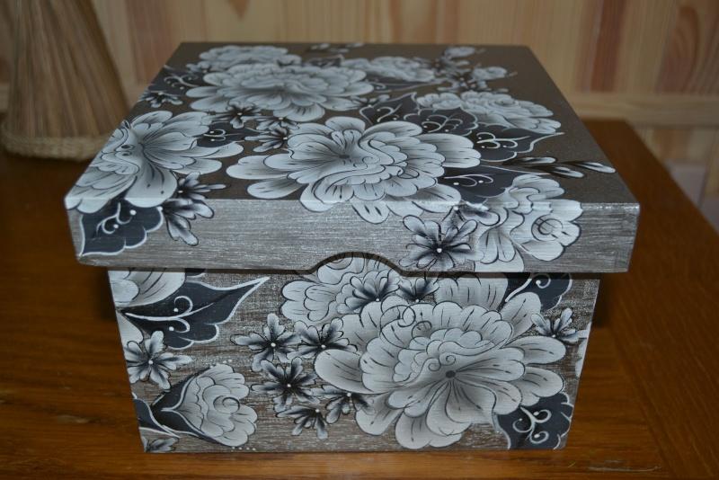 Les boites dans la maison page 24 - Peinture decorative sur bois et metal ...
