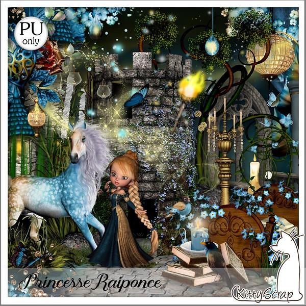 Princesse Raiponce de Kittyscrap dans Février kittys13