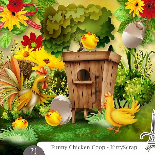 Funny Chicken Coop de Kittyscrap dans Mars previe31