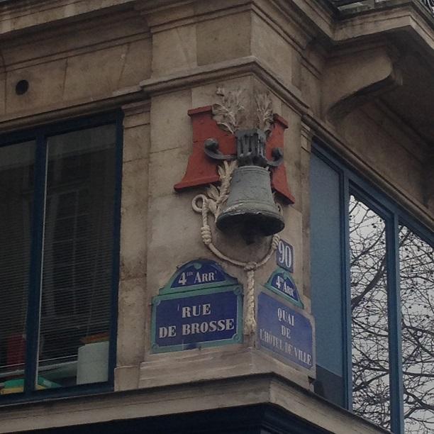 Curiosit Dans Une Vieille Rue De Paris