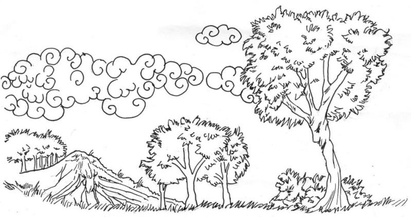 Dessins de concours sylvies ou la passion du dessin - Dessin de printemps a imprimer ...