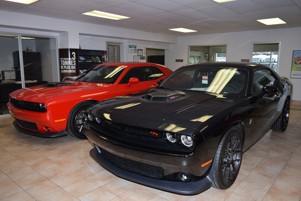 New Member And New 2016 Black Pack Dodge Challenger