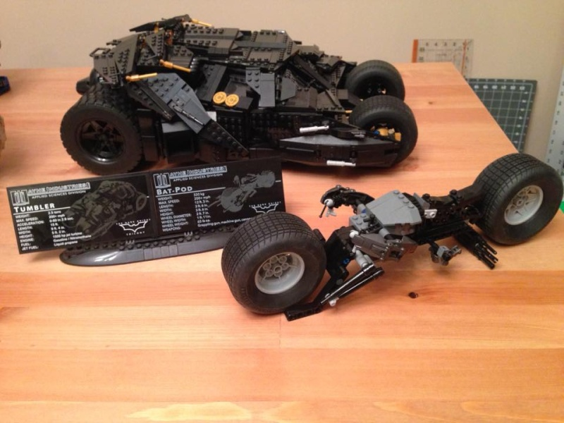 how to build a lego batpod