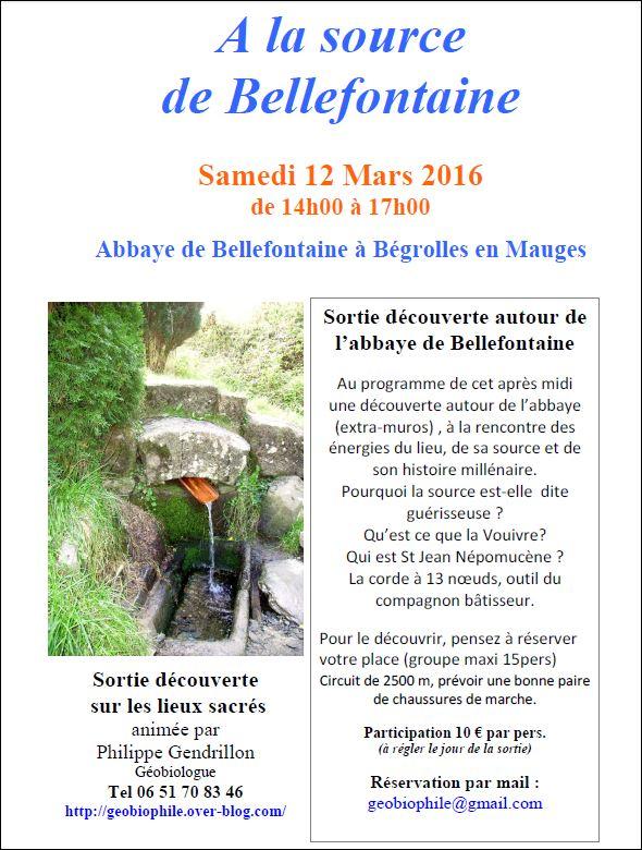 A la source de bellefontaine onvasortir cholet for Onvasortir cholet