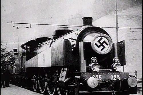 Trains de combat les trains nazis
