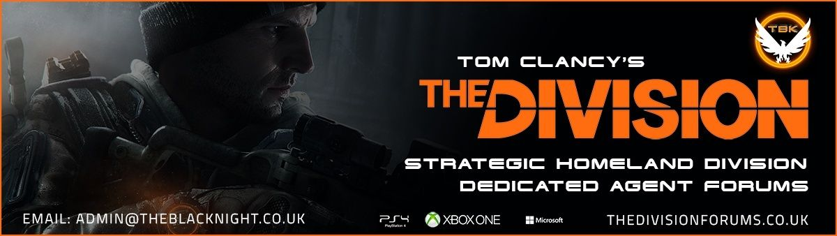 The Division SHD Dedicated Forum