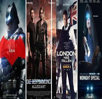 تعرف على أقوى الافلام المقرر عرضها فى شهر مارس 2016