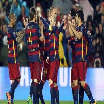 اهداف مباراة برشلونة 3 × ارسنال 1