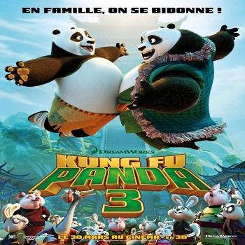 فيلم Kung Fu Panda 3 2016 مترجم دي فى دي