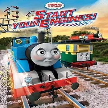 فيلم Thomas & Friends Start Your Engines! مترجم دي فى دي